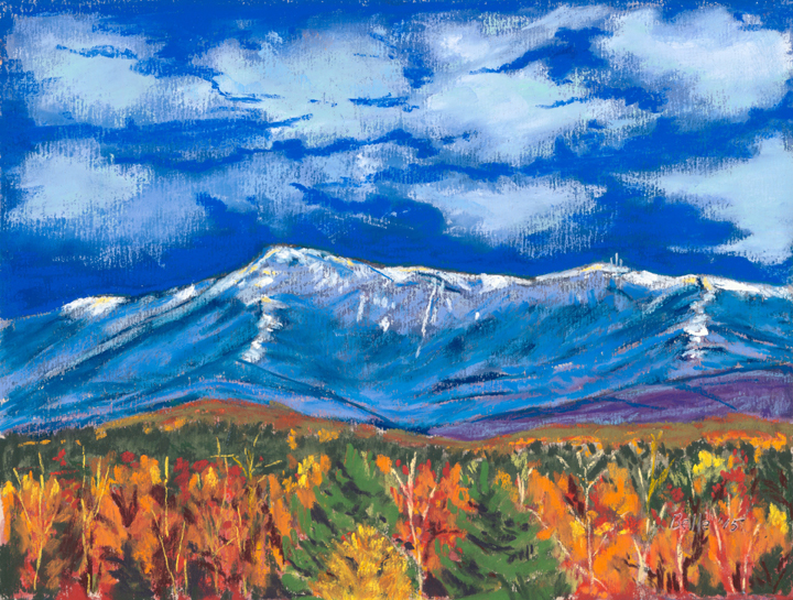 Belle McDougall, First Snow-Mt Mansfield