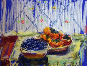 Susan Ross Grimaldi, Blackberries and Persimons